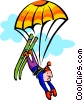 Vector Clip Art graphic  of a extreme sports