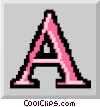 letter of the alphabet Vector Clipart graphic