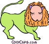 lion Vector Clipart illustration