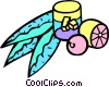 Vector Clip Art graphic  of a lemonade