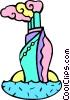 ocean liner Vector Clipart image