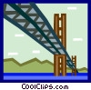 bridges Vector Clip Art picture