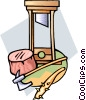 guillotine Vector Clipart illustration