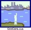 the Statue of Liberty Vector Clip Art picture