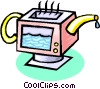 computer concept Vector Clipart picture