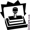 rubber stamp concept Vector Clipart illustration