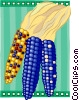 Indian corn Vector Clip Art graphic