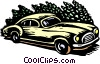 Vector Clipart image  of an automobile