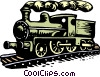 Vector Clipart picture  of a train