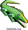 alligator Vector Clipart picture