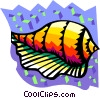 seashell Vector Clipart illustration