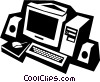computer Vector Clipart image
