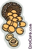 nuts Vector Clipart graphic