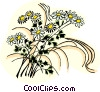 Vector Clipart image  of a flowers