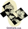 Vector Clipart picture  of a flowers