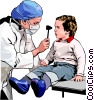 medical examination Vector Clip Art image