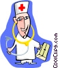doctor Vector Clipart illustration