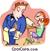 dining Vector Clipart picture