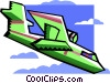 seaplane Vector Clip Art graphic