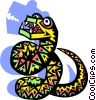 snake Vector Clipart illustration