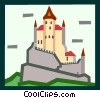 castle Vector Clip Art picture