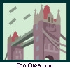 British buildings Vector Clip Art graphic