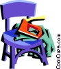Vector Clip Art image  of a tools for upholstering