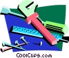 carpentry tools Vector Clipart illustration