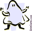 Vector Clip Art picture  of a Boo!