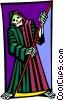 grim reaper Vector Clipart image