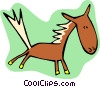 horse Vector Clipart graphic