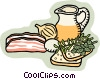 food and dining Vector Clip Art graphic