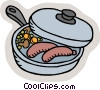 Vector Clipart image  of a cooking