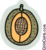 Vector Clipart image  of a food and dining