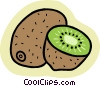 Vector Clipart illustration  of a kiwi
