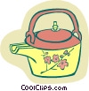 coffee pot Vector Clip Art image