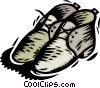 Vector Clip Art image  of a shoes