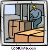 Vector Clipart image  of a business/industry