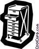 business/tool tray Vector Clip Art image