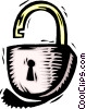 lock Vector Clip Art graphic