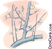 Vector Clipart graphic  of a tree branch