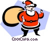 Santa Claus Vector Clip Art picture