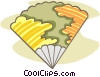 Vector Clipart image  of a fan