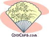Vector Clipart illustration  of a fan