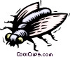 Vector Clipart illustration  of a fly