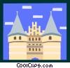 European architecture Vector Clip Art picture