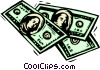 Vector Clipart graphic  of a business finance money