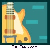 Vector Clip Art graphic  of a The Arts/Music