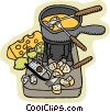 food and dining/home made soups Vector Clipart picture