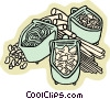 Vector Clip Art picture  of a pasta